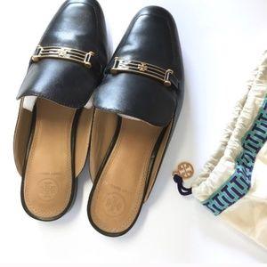 Tory Burch Black Low heel Mules size 9.5